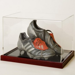 Double Boot Display Case