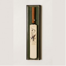UV Oak Cricket Bat Display Case